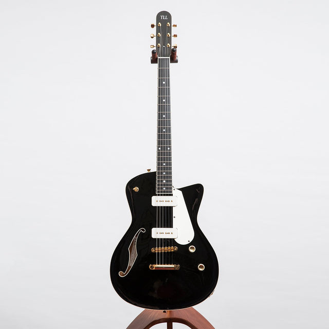 TLL Guitars Deckard Electric Guitar, Piano Black