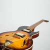 B&G Guitars Little Sister Crossroads Cutaway Electric Guitar, Tobacco Burst, Humbuckers