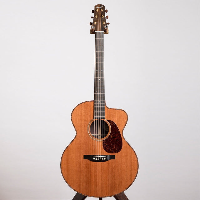 Bourgeois DBJC Custom Acoustic Guitar - Indian Rosewood & Redwood