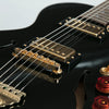 B&G Guitars Little Sister Crossroads Cutaway Electric Guitar, Midnight Ocean Humbuckers