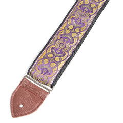 Jodi Head Guitar Wear - Purple Gypsey Guitar Strap