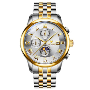 Multifunctional Automatic Waterproof Calendar Leisure Mechanical Watch