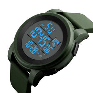 Men's LED Fashionable Waterproof Sport Watch