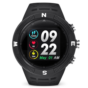 Sports Bluetooth 4.2 IP68 Waterproof Call / Message Reminder Pedometer Sleep Monitoring