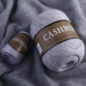 Best Quality 100% Mongolian Cashmere Hand-knitted Cashmere Yarn