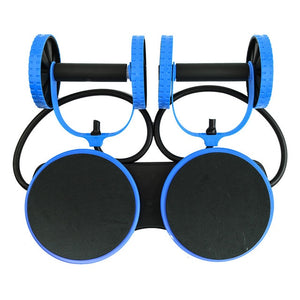 Ab Roller Wheel Abdominal Muscle Trainer Wheel Arm Waist Leg Exercise