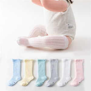 Mesh socks knee length 0-36 M