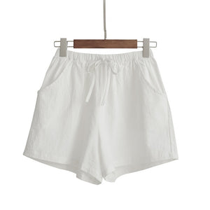 Women Loose High Waist Sports Shorts
