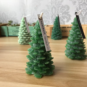 3D Christmas Tree Decoration Silicone Candle Mould