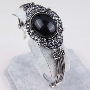 Large Stylish Retro Look Crystal Jewelry Accessories