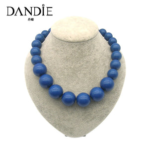 Acrylic Bead Necklace For Women