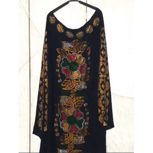 African Clothes Bazin Broder Riche Sexy Slim Robe Long Dress for women