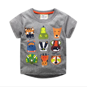 Animal printed baby boy  T-shirt