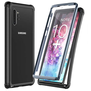 Built-in Screen Protector Full Body Heavy Duty Dropproof case Protect Support Wireless Charging for samsung note10+