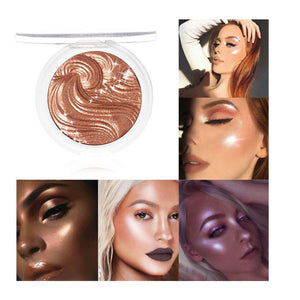 Three-dimensional Brighten Face Foundation Palette Highlighter Makeup Face Powder