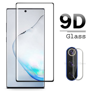 Samsung Galaxy Note 10 Pro Tempered Glass Screen Protector For Samsung Galaxy Note10 Plus Note 9 8 Lens Glas