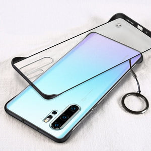 Ultra Thin With Ring Stand Phone Case For Samsung Galaxy Note 10 Plus