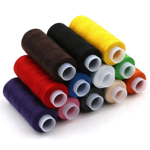 12pcs different colors sewing thread 5g each