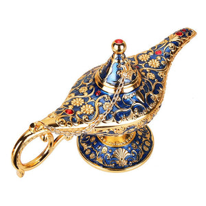 Aladdin Lamp Traditional Hollow Out  Home Decoration