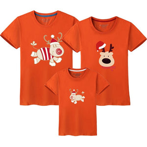 Christmas Family Matching Outfits short sleeve T Shirt