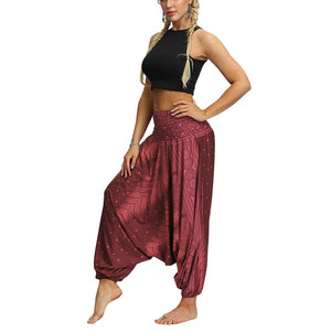 Womens Dance Party Baggy Drop Crotch Bottoms