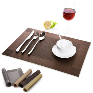 Table Slip-resistant Mat Waterproof Kitchen Dining Table Hot Pad