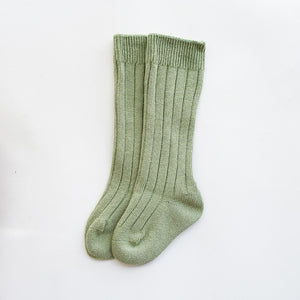 Anti-Slip Knitted Knee Socks
