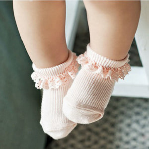 Cotton Anti Slip Knit Socks