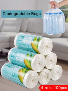 Biodegradable household garbage bags