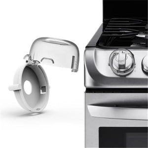 2Pcs/Set Child Safegaurd Lock Kitchen Cooker Gas Oven Stove Knob Cover Guard