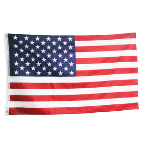 Polyester united states of america thin flag 90x150cm