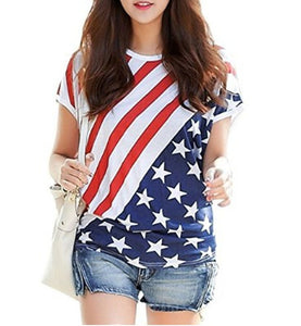 July 4 women t shirt