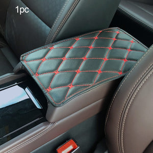 Auto Interior Armrests Storage Box Mats Leather