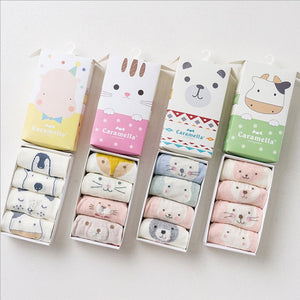 Baby Socks Set of 4, 0-3 Y