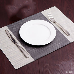 Pack of 4Pcs Kitchen Dinning Table Place Mats Non-slip
