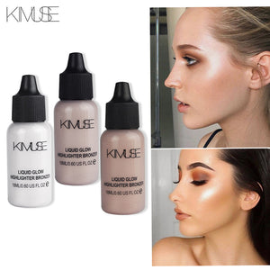 Face Makeup Box Shimmer Primer Ultra-Concentrated Illuminating  Makeup Concealer Liquid Highlighter Cosmetic Set