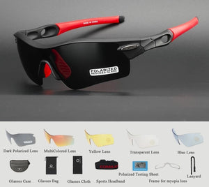 Polarized Cycling Glasses Bike Goggles