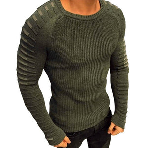 Men Pullover Slim Fit Male Sweater Autumn Spring Casual