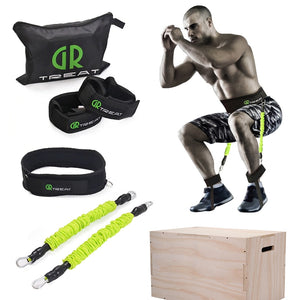 Power Guidance Booty Band Resistance Band Exercise Belt For Jump Training