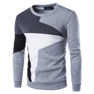 Thick Warm Sweaters O-Neck Wool Sweater Men Striped