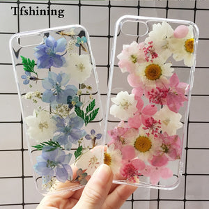 iPhone XS Max XR 6 6s 7 8 Plus X Silicon TPU Clear Floral Cover Phone Case