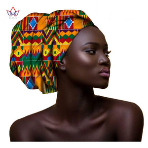 African head Scarf print cotton wax high quality
