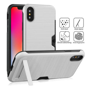 Ultra-thin Phone Cover For iPhone X XR XS Max 7 6s PC + TPU case For Samsung Galaxy S10 S9 Plus S8 Note 8 9