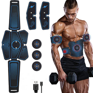 Vibration Abdominal Muscle Stimulator Trainer Rechargable