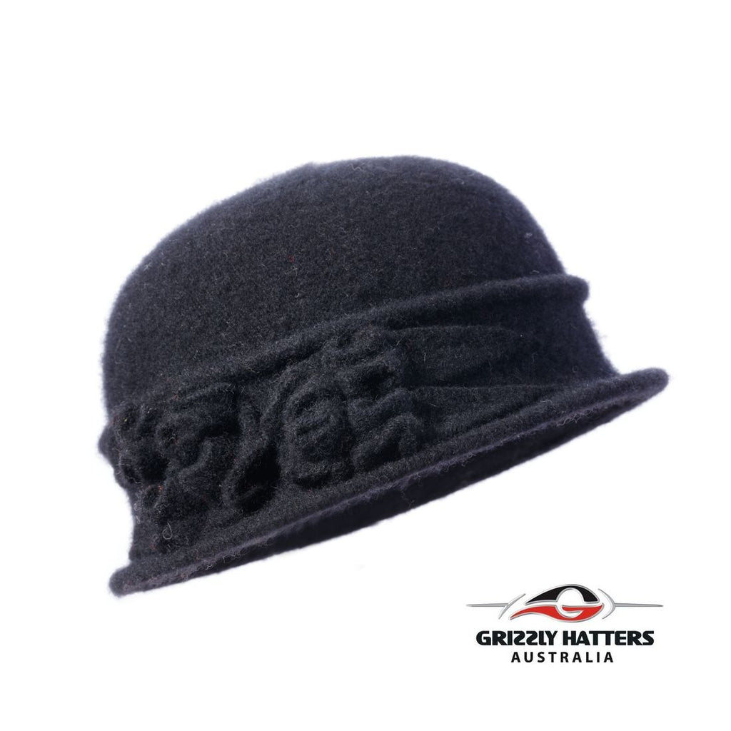 Foldable Wool Hat Petite Fit