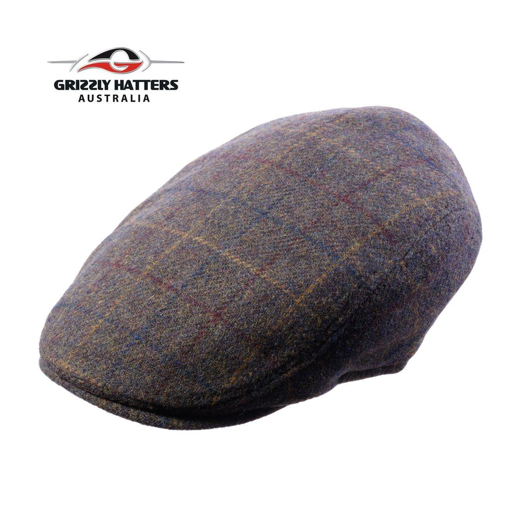 Stylish Italian Wool Ivy Cap designed by Grizzly hatters Salamanca Market