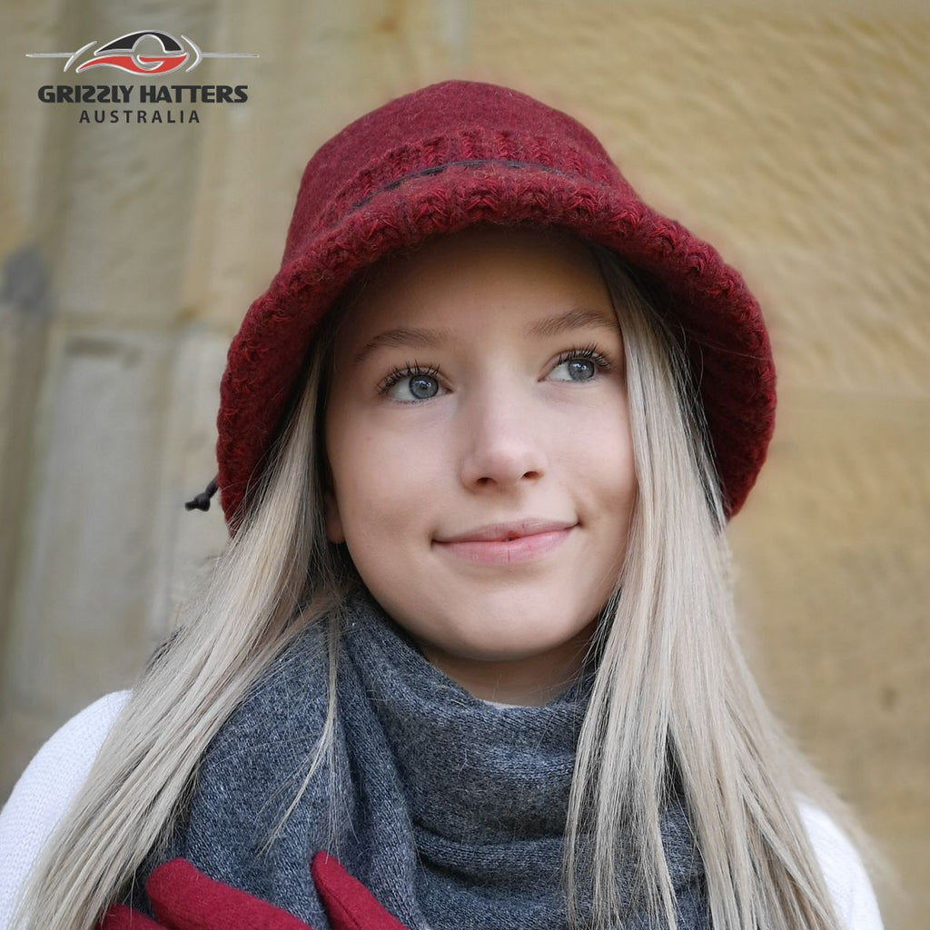 Foldable Fashion Wool Hat