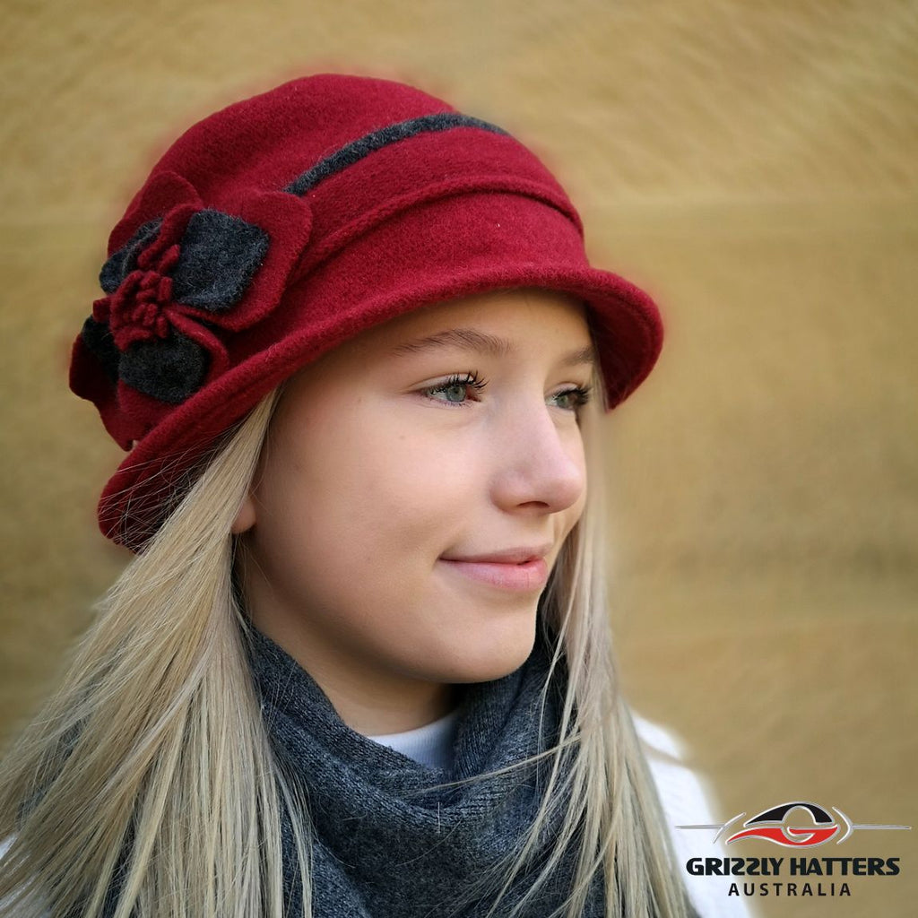 Foldable Wool Hat