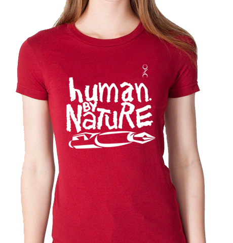 Human. By Nature Ladies (CRANBERRY/WHITE)