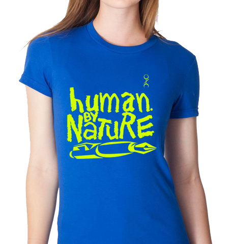 Human. By Nature Ladies (BLUE/NEON)